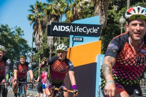 AIDS LifeCycle 2018